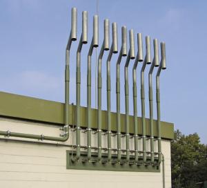 Ausbläser nach G 442 für Gasdruckregel- und Messanlagen