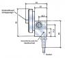 Differenzdruckanzeiger 2000 (Ausfuehrung P-Anschluss unten, reedkontakt 1)